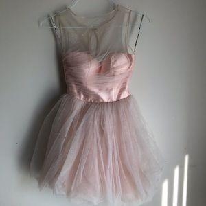 Chi Chi London Tulle Mini Dress Prom Dress